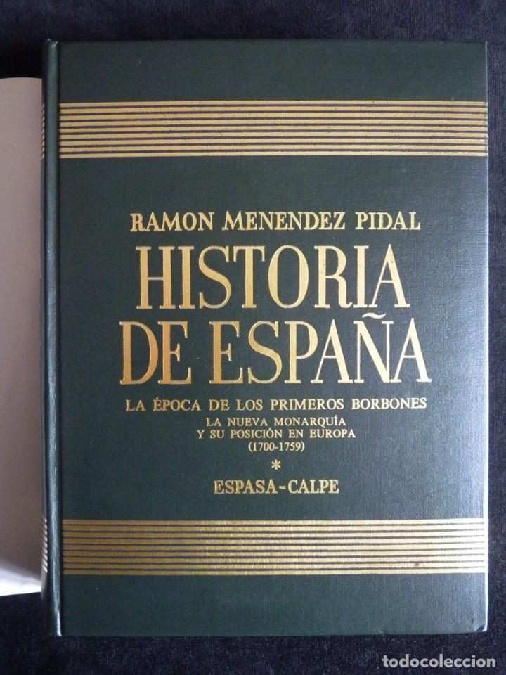 Enciclopedias de segunda mano: HISTORIA DE ESPAÑA R. MENÉNDEZ PIDAL. TOMO XXVIX. 2 VOLUMENES ... PRIMEROS BORBONES. ESPASA CALPE. 1 - Foto 4 - 247047065