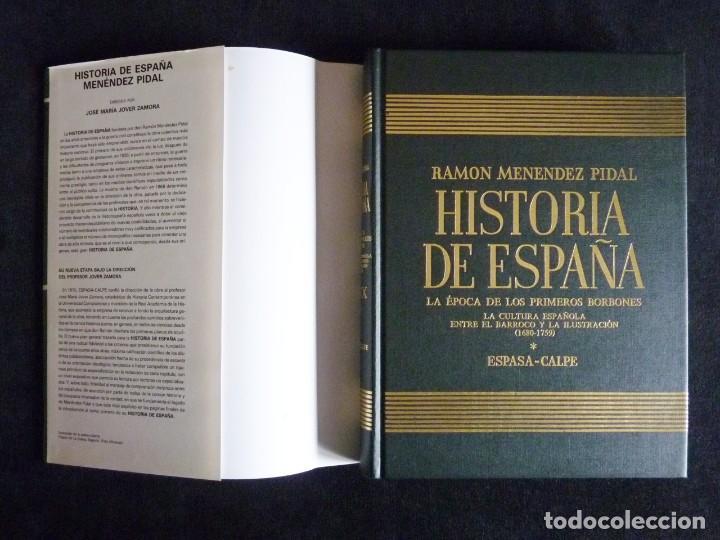 Enciclopedias de segunda mano: HISTORIA DE ESPAÑA R. MENÉNDEZ PIDAL. TOMO XXVIX. 2 VOLUMENES ... PRIMEROS BORBONES. ESPASA CALPE. 1 - Foto 11 - 247047065