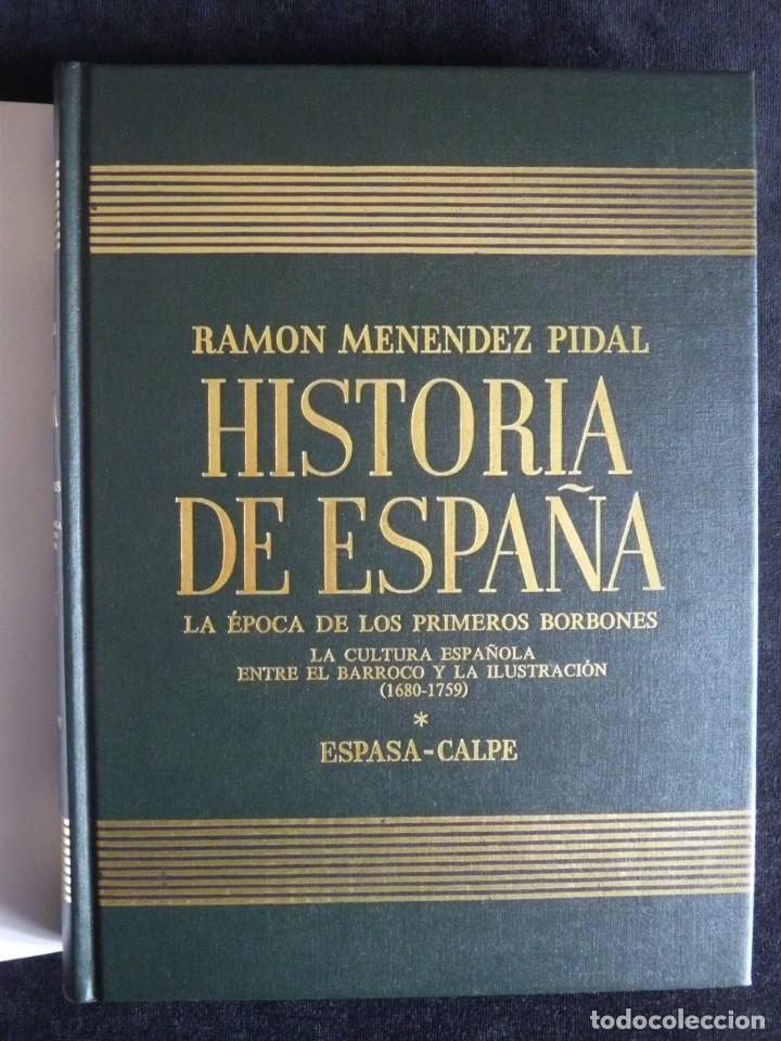Enciclopedias de segunda mano: HISTORIA DE ESPAÑA R. MENÉNDEZ PIDAL. TOMO XXVIX. 2 VOLUMENES ... PRIMEROS BORBONES. ESPASA CALPE. 1 - Foto 12 - 247047065
