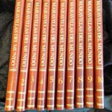 Enciclopedias de segunda mano: ENCICLOPEDIA MARAVILLAS DEL MUNDO 10 TOMOS DE EDITORIAL SALVAT. Lote 248630465