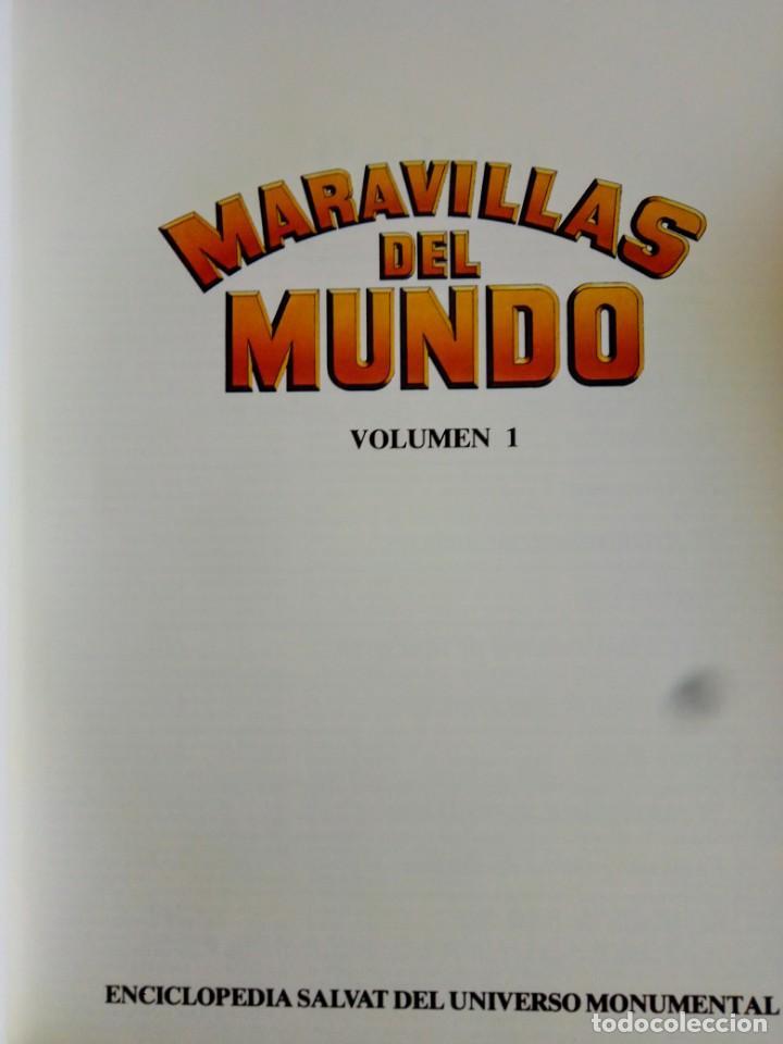 Enciclopedias de segunda mano: Enciclopedia Maravillas del Mundo 10 tomos de Editorial Salvat - Foto 3 - 248630465