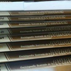 Enciclopedias de segunda mano: 8 TOMOS SUELTOS DE LA ENCICLOPEDIA ILUSTRADA DE LA AVIACIÓN SA3317. Lote 249138660