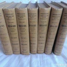 Enciclopedias de segunda mano: DICCIONARIO DE AGRICULTURA, GANADERIA E INDUSTRIAS RURALES. Lote 250119955
