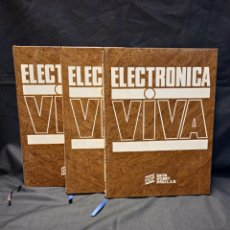 Enciclopedias de segunda mano: ELECTRÓNICA VIVA - VVAA - HOBBY PRESS 1984. Lote 278688743