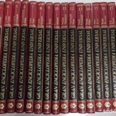 Enciclopedias de segunda mano: GRAN ENCICLOPEDIA UNIVERSAL 20 TOMOS. EDITORIAL NAUTA. 1981. COMPLETA. Lote 252263580