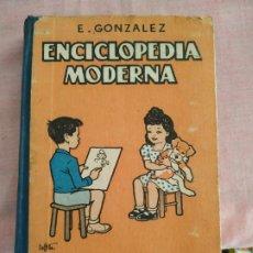 Enciclopedias de segunda mano: ENCICLOPEDIA MODERNA GRADO MEDIO (E. GONZÁLEZ) APÉNDICE COMPLEMENTARIO GRAMÁTICA. Lote 253189085