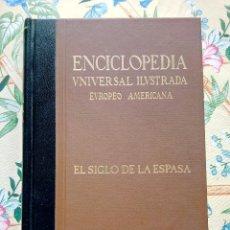 Enciclopedias de segunda mano: EL SIGLO DE LA ESPASA EDITORIAL: ESPASA CALPE AÑO DE EDICIÓN: 2009 MATERIA NARRATIVA. Lote 254729945