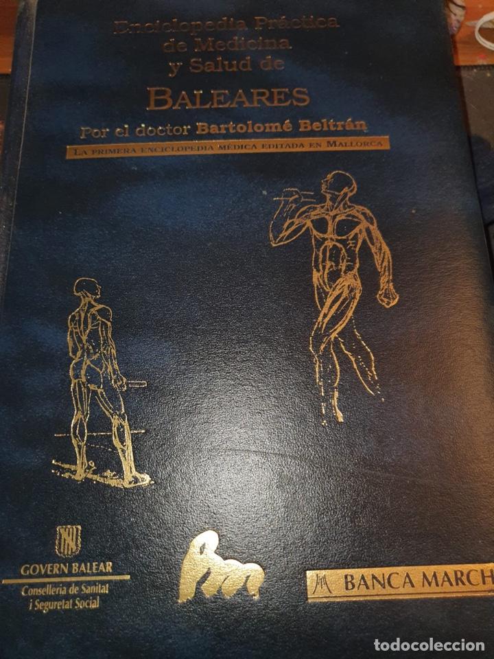VENDO ENCICLOPEDIA PRÁCTICA DE MEDICINA Y SALUD DE BALEARES (Libros de Segunda Mano - Enciclopedias)