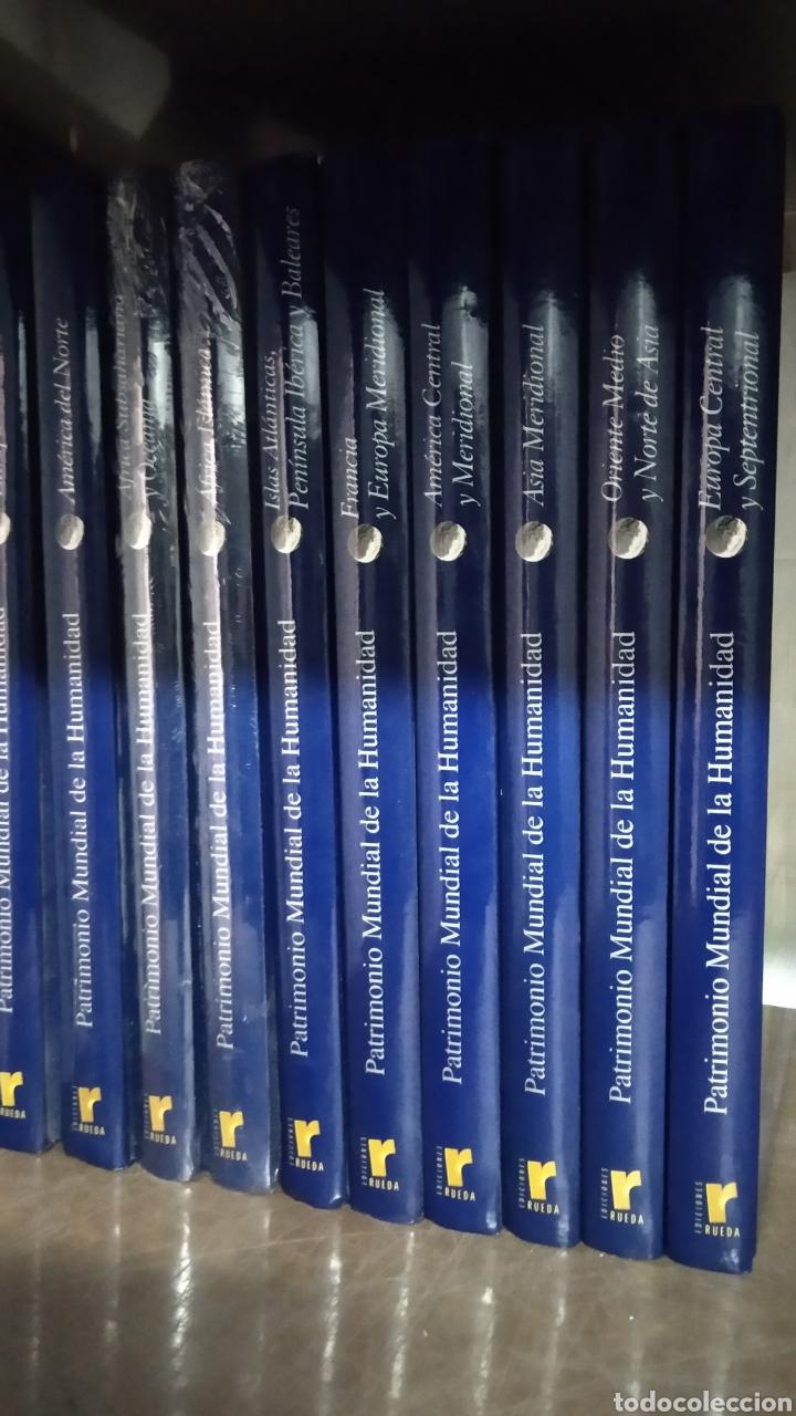 COLECCIÓN PATRIMONIO MUNDIAL DE LA HUMANIDAD 10 TOMOS (Libros de Segunda Mano - Enciclopedias)