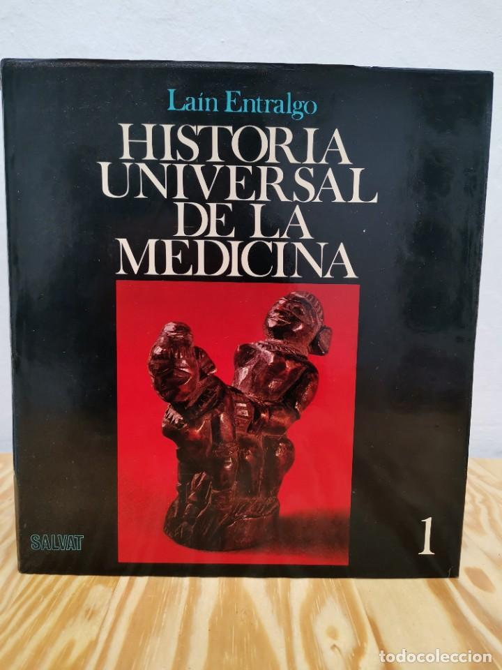 Enciclopedias de segunda mano: Historia Universal de la Medicina. Pedro Laín Entralgo. Salvat, 1976. 5 Tomos (completa). Médicos - Foto 2 - 257534645