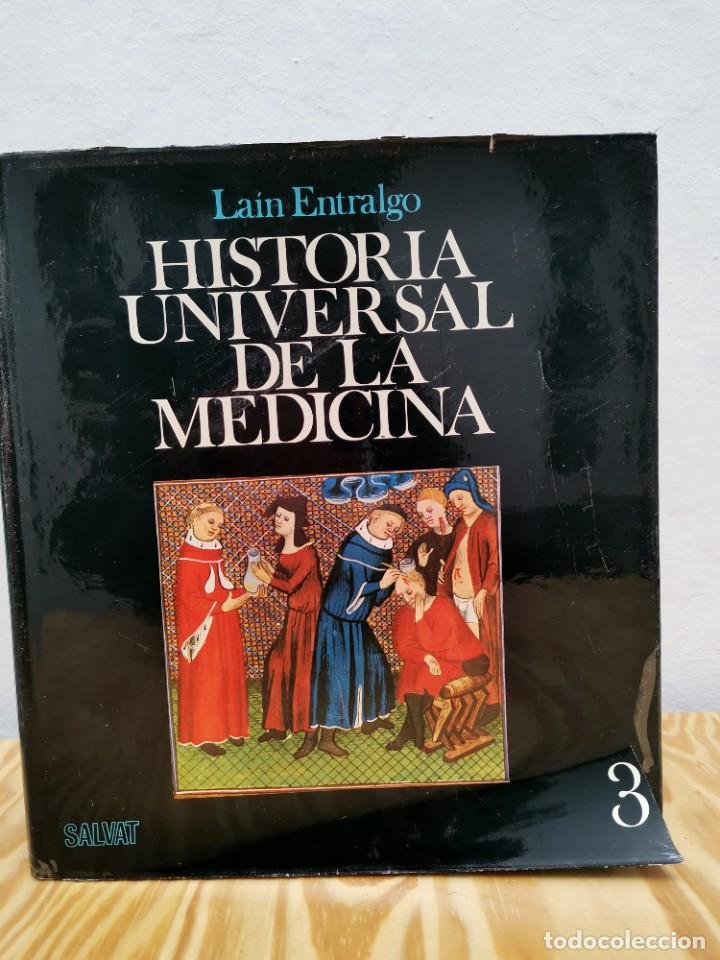 Enciclopedias de segunda mano: Historia Universal de la Medicina. Pedro Laín Entralgo. Salvat, 1976. 5 Tomos (completa). Médicos - Foto 4 - 257534645