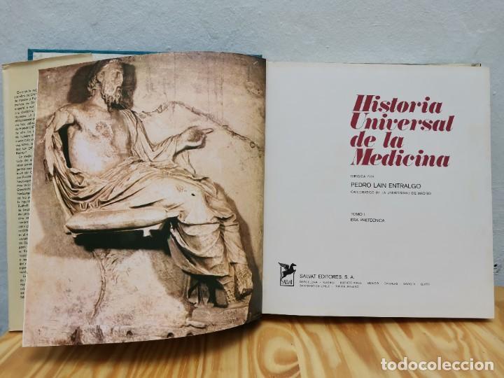 Enciclopedias de segunda mano: Historia Universal de la Medicina. Pedro Laín Entralgo. Salvat, 1976. 5 Tomos (completa). Médicos - Foto 7 - 257534645