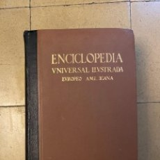 Livros em segunda mão: ENCICLOPEDIA UNIVERSAL ILUSTRADAS EUROPEO - AMERICANA TOMO XXI. Lote 258148105