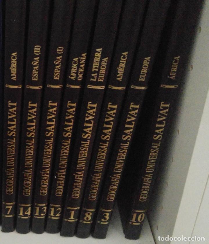GEOGRAFIA UNIVERSAL SALVAT TOMO 3 EUROPA (Libros de Segunda Mano - Enciclopedias)