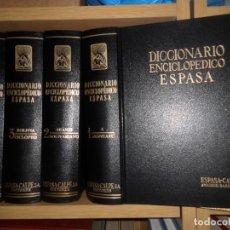 Enciclopedias de segunda mano: DICCIONARIO ENCICLOPEDICO ESPASA - 12 TOMOS / COMPLETO - ESPASA-CALPE DISPONGO DE MAS ENCICLOPEDIAS. Lote 261783750
