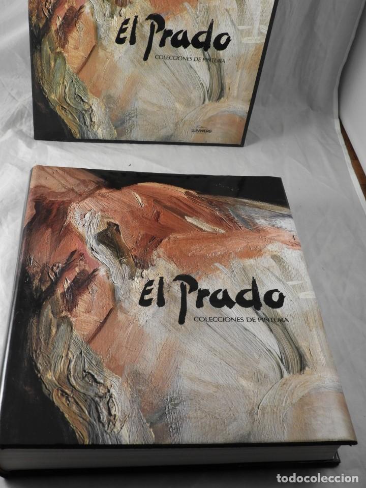 Enciclopedias de segunda mano: LIBRO DEL MUSEO DEL PRADO COLECCIONES DE PINTURA EDIT. LUNWERG - Foto 2 - 261895385