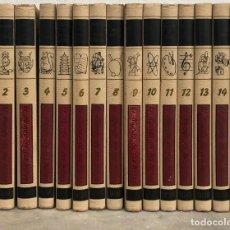 Enciclopedias de segunda mano: EL MUNDO DE LOS NIÑOS, SALVAT, COMPLETA EN 15 TOMOS. 5ª EDICION 1966. / MUNDI-ENCICLOPEDIA. Lote 264299144
