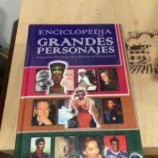 Enciclopedias de segunda mano: ENCICLOPEDIA GRANDES PERSONAJES. Lote 264307100