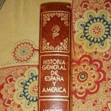 Enciclopedias de segunda mano: HISTORIA GENERAL DE ESPAÑA Y AMÉRICA TOMO XVIII HISPANO AMÉRICA EN EL SIGLO XX. Lote 264534324