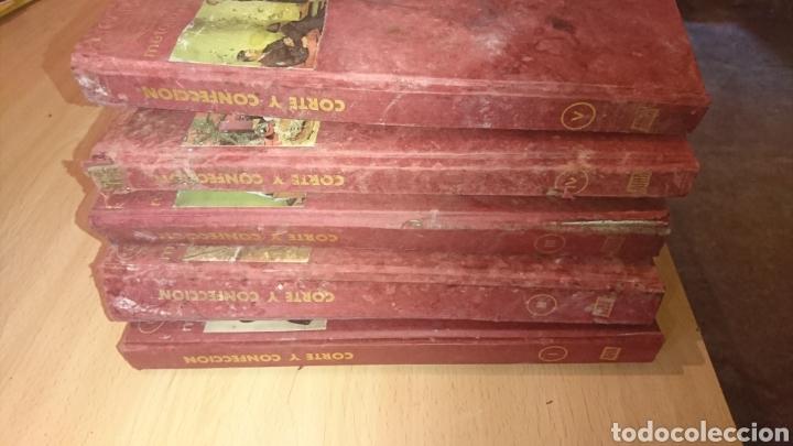 Enciclopedias de segunda mano: Viejos libros, 5 tomos, corte y confección, afha, edición 1971,ver fotos - Foto 2 - 265467929