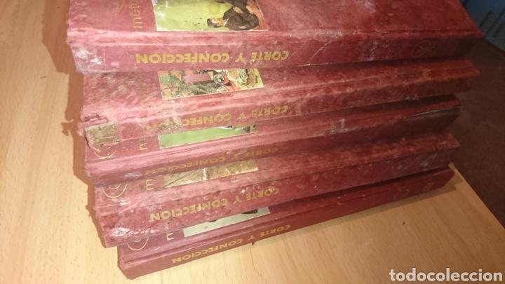 Enciclopedias de segunda mano: Viejos libros, 5 tomos, corte y confección, afha, edición 1971,ver fotos - Foto 3 - 265467929