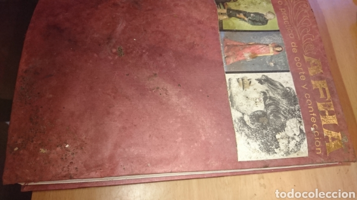 Enciclopedias de segunda mano: Viejos libros, 5 tomos, corte y confección, afha, edición 1971,ver fotos - Foto 5 - 265467929