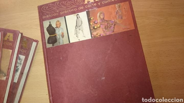 Enciclopedias de segunda mano: Viejos libros, 5 tomos, corte y confección, afha, edición 1971,ver fotos - Foto 30 - 265467929
