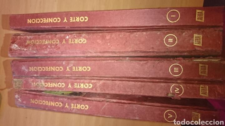 Enciclopedias de segunda mano: Viejos libros, 5 tomos, corte y confección, afha, edición 1971,ver fotos - Foto 36 - 265467929