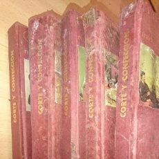 Enciclopedias de segunda mano: VIEJOS LIBROS, 5 TOMOS, CORTE Y CONFECCIÓN, AFHA, EDICIÓN 1971,VER FOTOS. Lote 265467929