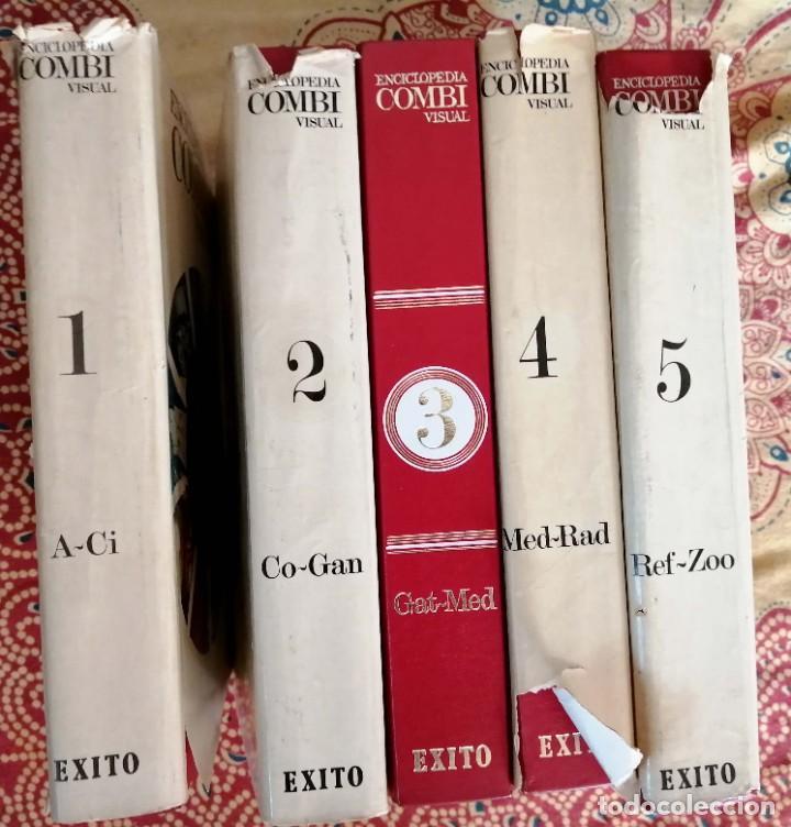 Enciclopedias de segunda mano: Enciclopedia Combi visual 5 tomos completa - Foto 2 - 266765768