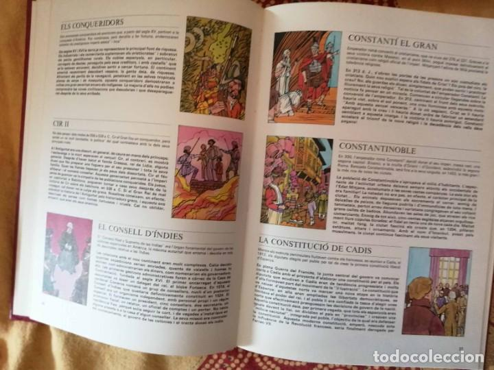 Enciclopedias de segunda mano: Nova enciclopèdia per a la joventut Ho sé tot sobre… 6 tomos Argos Vergara - Foto 5 - 266771274