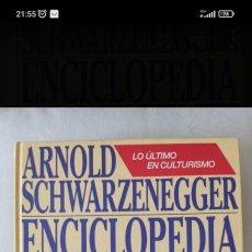 Enciclopedias de segunda mano: ENCICLOPEDIA DEL CULTURISMO ...ARNOLD SCHWARZENEGGER. Lote 268164789