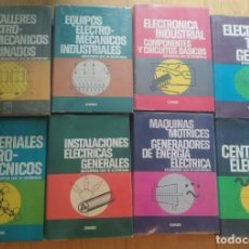 Enciclopedias de segunda mano: LIBROS ENCICLOPEDIA DE LA ELECTRICIDAD. CEAC. Lote 268821729