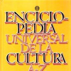 Enciclopedias de segunda mano: ENCICLOPEDIA UNIVERSAL DE LA CULTURA - A -Z - EL MUNDO. Lote 269026399