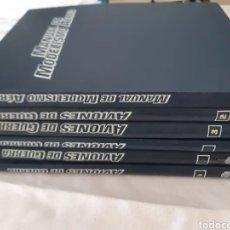 Enciclopedias de segunda mano: AVIONES DE GUERRA PLANETA AGOSTINI 5 TOMOS + MANUAL DE MODELISMO AEREO. Lote 269096153