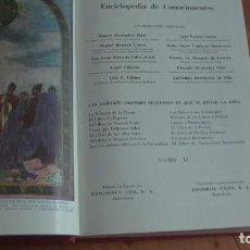 Enciclopedias de segunda mano: EL TESORO DE LA JUVENTUD ENCICLOPEDIA DE CONOCIMIENTOS TOMOS XI .. Lote 269321313