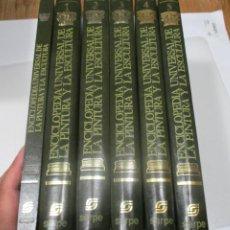 Enciclopedias de segunda mano: ENCICLOPEDIA UNIVERSAL DE LA PINTURA Y LA ESCULTURA (5 TOMOS + 1 ) W7542. Lote 269579953