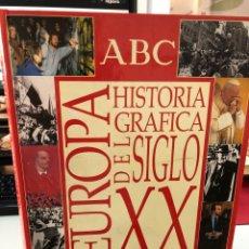 Enciclopedias de segunda mano: BBVA ARGENTARIA EUROPA HISTORIA GRÁFICA DEL SIGLO XX. Lote 269654603
