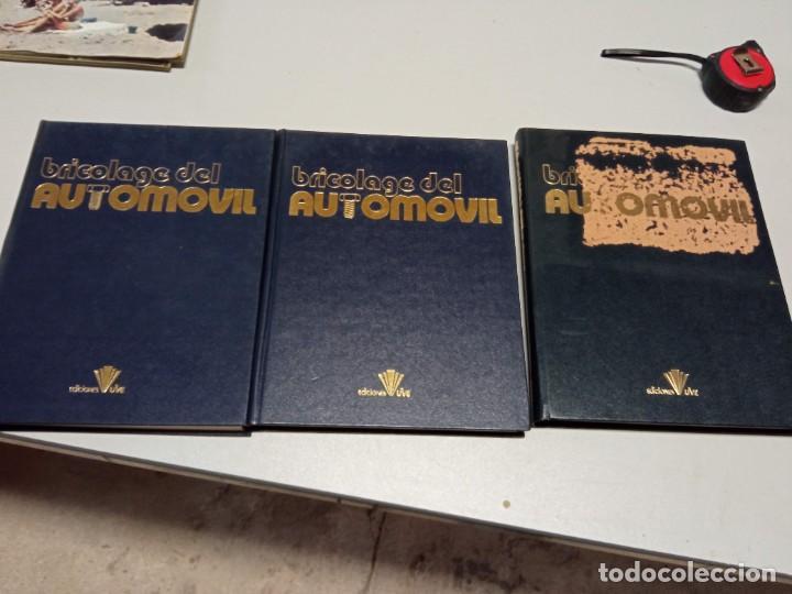 ENCICLOPEDIA BRICOLAJE DEL AUTOMÓVIL 3 TOMOS (Libros de Segunda Mano - Enciclopedias)