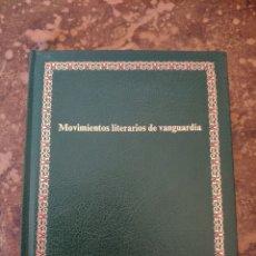 """Enciclopedias de segunda mano: BIBLIOTECA SALVAT DE GRANDES TEMAS """"GT"""" N° 61: MOVIMIENTOS LITERARIOS DE VANGUARDIA (SALVAT). Lote 270251743"""