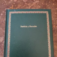 """Enciclopedias de segunda mano: BIBLIOTECA SALVAT DE GRANDES TEMAS """"GT"""" N° 52: JUSTICIA Y DERECHO (SALVAT). Lote 270251823"""