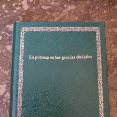 """Enciclopedias de segunda mano: BIBLIOTECA SALVAT DE GRANDES TEMAS """"GT"""" N° 11: LA POBREZA EN LAS GRANDES CIUDADES (SALVAT). Lote 270252308"""