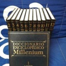 Enciclopedias de segunda mano: DICCIONARIO ENCICLOPÉDICO MILLENIUM - ESPASA CALPE 1999 COLECCIÓN COMPLETA. Lote 271129143