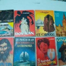 Enciclopedias de segunda mano: LOTE DE 8 ENCICLOPEDIAS PULGA. Lote 272143753