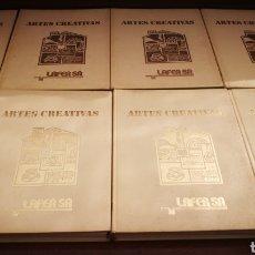 Enciclopedias de segunda mano: ARTES CREATIVAS - 8 TOMOS - LAFER S.A.. Lote 273079538