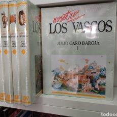 Enciclopedias de segunda mano: NOSOTROS LOS VASCOS JULIO CARO BAROJA 5 TOMOS RETRACTILADOS PAIS VASCO ETNOGRAFIA VASCA. Lote 273717688