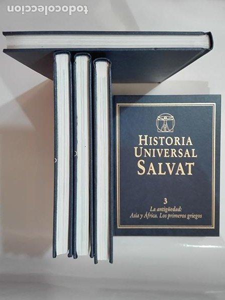 Enciclopedias de segunda mano: ENCICLOPEDIA. HISTORIA UNIVERSAL SALVAT. 17 volúmenes. - Foto 4 - 275853273