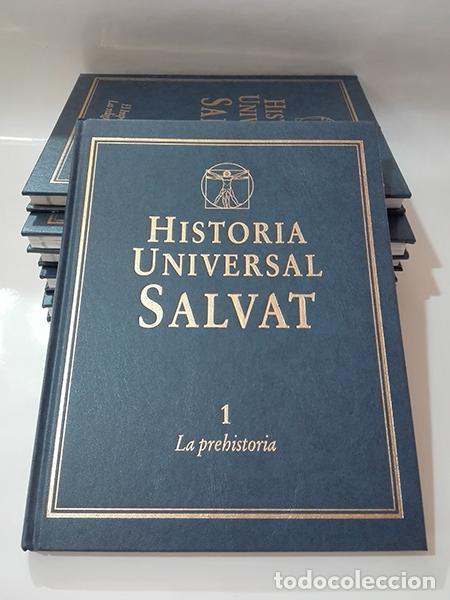 ENCICLOPEDIA. HISTORIA UNIVERSAL SALVAT. 17 VOLÚMENES. (Libros de Segunda Mano - Enciclopedias)