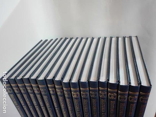 Enciclopedias de segunda mano: ENCICLOPEDIA. HISTORIA UNIVERSAL SALVAT. 17 volúmenes. - Foto 3 - 275853273