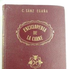 Livros em segunda mão: ENCICLOPEDIA DE LA CARNE POR C.SANZ EGAÑA EDITORIAL ESPASA CALPE. Lote 276015563